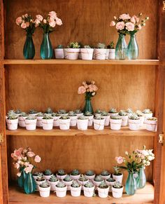 succulent favors - photo by Leo Patrone