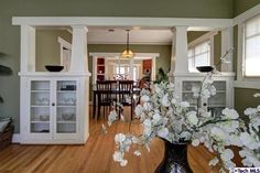 Large dining room AND living room AND kitchen!