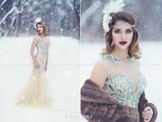 Mary Moua Photography - Wisconsin High School Senior Photographer. Winter session. Great Gatsby shoot.