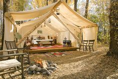 That's my kind of camping - Glamping!