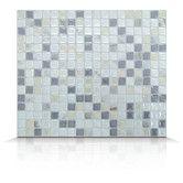 Found it at Wayfair Supply - Mosaik Self Adhesive High-Gloss Mosaic in Pearl & Gray