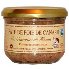 Pâté de foie de canard 180 gr - partie noble du canard travaillé en terrine - 4.31€