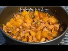 Sepia estofada con patatas - Recetas de cocina fáciles, sanas y saludables - YouTube