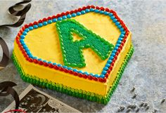 An easy to make cake for the super hero in your life.