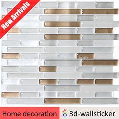 Kitchen concept peel and stick juicy proof foil backsplash gold glitter gel wall sticker