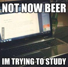 Stop it beer!
