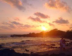 Sunset Beach Weddings, Hawaii Wedding, Kona Beaches, Kona Coast, Big Island, Hawaiian, Night, Simple, Outdoor