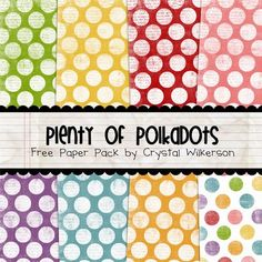 Free printable scrapbook pages!  I'm not into scrapbooking anymore but I can always find a use for cute paper!  :-)