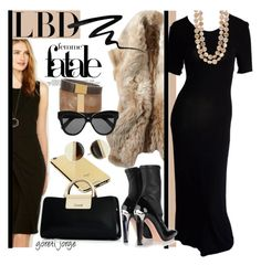 """Little Black Dress"" by goreti ❤ liked on Polyvore featuring Calvin Klein, Goldgenie, Eyeko, Isabel Marant, Michael Kors, Alexander McQueen, Linda Farrow, LBD and blackchic"