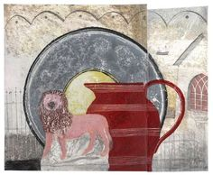 'China Lion, Red Jug' by Jonathan Christie, 2010