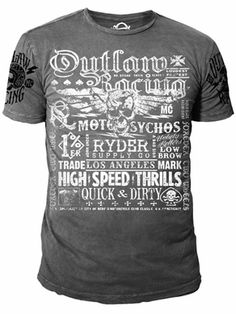 Ryder Supply Clothing Outlaw T-shirt (Gray)