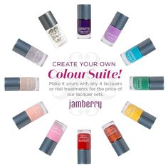 Create your own Jamberry Colour Suite!  http://nailsinharmony.jamberry.com