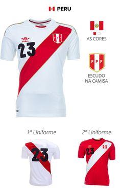 ba0711b4f7098 As camisas das 32 seleções da Copa