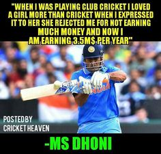 That's motivating. #captaincool #dhoni #india