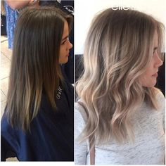 Total transformation! Hair by @little_jflesh