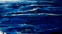 Como hacer olas marinas oleo (Cristhian Toledo