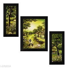 Religious Idols & Paintings Trendy Personal Home Painting Material: Synthetic Size : Frame 1 (L x W) - 6 in x 13 in          Frame 2 (L x W) - 10.2 in x 13 in          Frame 3 (L x W) - 6 in x 13 in Description: It Has 3 Pieces Of Frames With Painting (Glass Is Not Included) Work: Printed Country of Origin: India Sizes Available: Free Size   Catalog Rating: ★4 (346)  Catalog Name: Trendy Personal Home Paintings Vol 1 CatalogID_378367 C128-SC1316 Code: 282-2788054-756