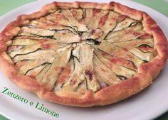 La torta salata taleggio speck e zucchine è un piatto unico ideale per una cena veloce in famiglia o una cena rustica tra amici.Facilissima da preparare