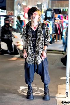 Dark Harajuku Street Fashion