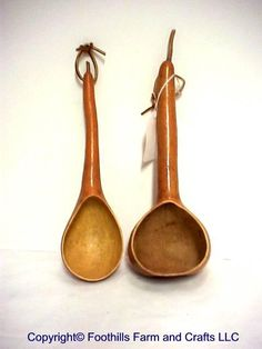 Ladle Gourds ... these aren't mine ,but after Santa faces in clay on gourds these were one of the first projects I did with gourds...