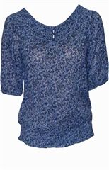 Flower Printed Cotton Top http://www.trendi24x7.com/tops