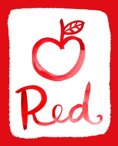 My absolute favorite color is red. No other color even comes close to my affinity for the color red. <3