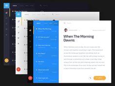 Envelope UI Kit  Tablet  by Home Lab