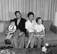 Don Knotts at home.                                                                                                                                                                                 More