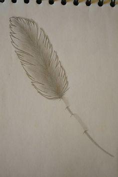 ⚪natta.lk @ instagram⚪ Teckning Fjäder Blyerts Drawing Feather Graphite Blacklead Art Artwork