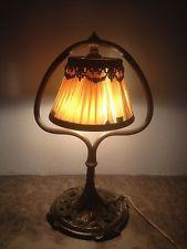 jugendstil lamp period art nouveau tiffany galle handel co