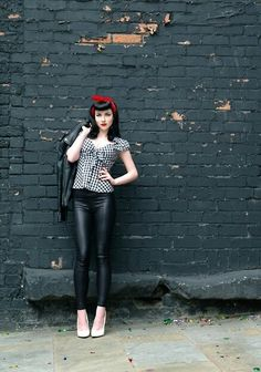 Rockabilly look, my outfit inspiration for engagement photos :)