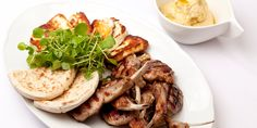 Drawing inspiration from Turkish cuisine, Bryan Webb serves up griddled lamb recipe with homemade hummus and halloumi.