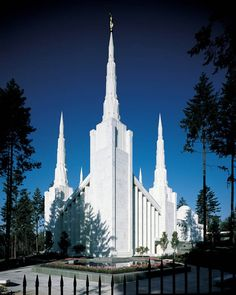 Portland, OR Temple.  I have family in this area so we try to go while visiting.  So beautiful!