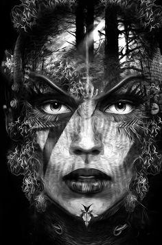 FANTASMAGORIK® FOREST G… by obery nicolas, via Behance