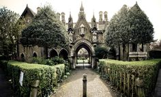 MIND ON DESIGN: Gothic Architecture and Decor - The Interior Collective.  Gated Manor In London!!  Beautiful!!