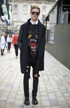 Street Style, Menswear.