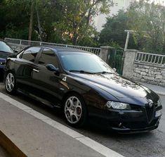 Alfa 156 with Giulia front