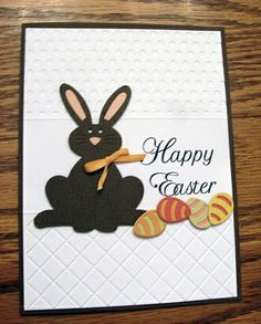 Chocolate Easter Bunny Card | Flickr - Photo Sharing!