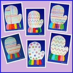 Winter Art Projects, Winter Project, Winter Crafts For Kids, Winter Kids, Art For Kids, Kindergarten Art, Preschool Crafts, Arte Elemental, Grade 1 Art