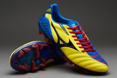 Mizuno Football Boots - Mizuno Wave Ignitus 3 MD - Firm Ground - Soccer  Cleats -