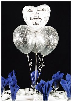 black and white wedding balloons with sayings | foil wedding balloon foil balloon with 3 clear wedding balloons