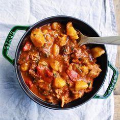 Spanish Chicken, Chorizo & Potato Braise: Spanish Recipes