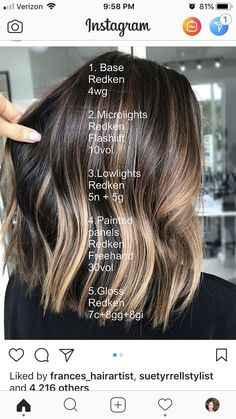 fall hair Hair color ideas for brunettes balayage fun fall ideas for 2019 Balayage Bangs, Hair Color Balayage, Ombre Hair, Fall Balayage, Redken Hair Color, Bayalage, Hair Color Shades, Hair Color And Cut, Butter Blonde