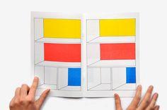 3   A Minimalist Comic Book That Stares Straight Into Piet Mondrian's Soul   Co.Design: business + innovation + design