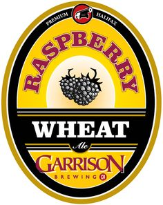 Garrison Brewing Co. Beer Festival, Festival Wedding, Canadian Beer, Beer 101, Brewing Company, Ale, Beer Labels, Raspberry, English