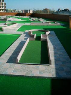 Golf Card Game, Dubai Golf, Crazy Golf, La Rive, Miniature Golf, Golf Tips, Baseball Field, Backyard Landscaping, Golf Courses