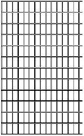 4x4 Utility Panel 20 Long 6 Gauge 192 Dia X 3 H 35