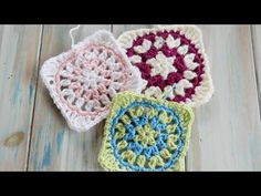 Starburst Granny Square - How to Crochet - YouTube