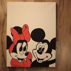 Ich wünsche euch allen einen guten Rutsch ins Jahr 2017!  Meinen neuen Disney-Beitrag könnt ihr auf meinem Blog lesen. :) #disney #love #minnie #mickey #mouse #selbstgemacht #leinwand #einfach #schön #diy #bastelattacke Mickey Mouse, Disney Characters, Fictional Characters, Blog, Diy, Reading, Simple, Homemade, Canvas