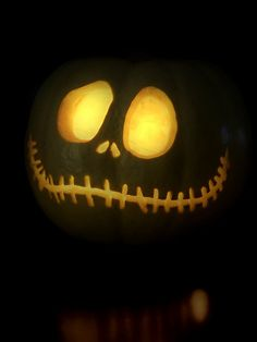 Jack Skellington Jack-O-Lantern